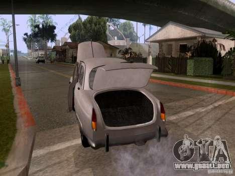 GAZ 21 Volga para vista lateral GTA San Andreas