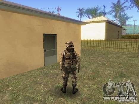 Blackburn de BF3 para GTA San Andreas segunda pantalla