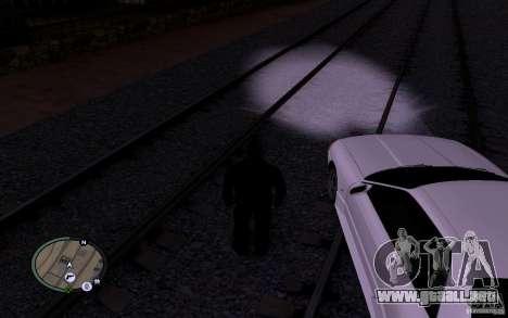 Rieles rusos para GTA San Andreas sexta pantalla