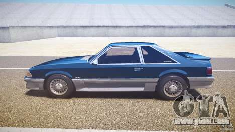 Ford Mustang GT 1993 Rims 1 para GTA 4 left