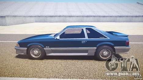 Ford Mustang GT 1993 Rims 1 para GTA 4 left