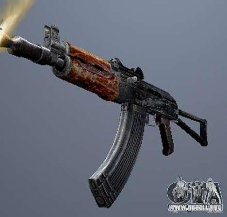 Un conjunto de armas de un acosador para GTA San Andreas décimo de pantalla