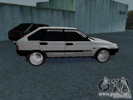 VAZ 2109 sintonizable para GTA San Andreas