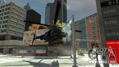 NYC Helitours Texture para GTA 4 vista interior
