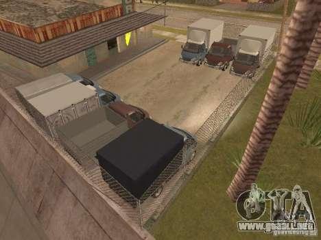 GAS-3310 Valdai para visión interna GTA San Andreas