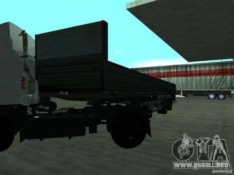 MTM 933001 p/persona para GTA San Andreas vista posterior izquierda