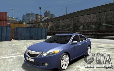 Acura TSX 2011 para GTA 4