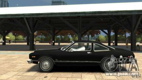 Plymouth Volare Coupe 1977 para GTA 4 left