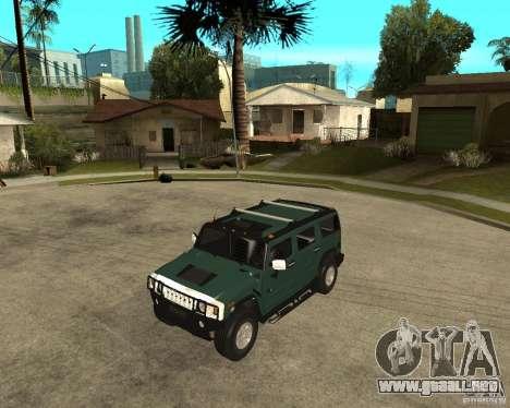 AMG H2 HUMMER SUV para GTA San Andreas
