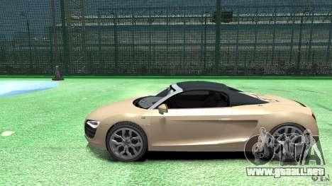 Audi R8 Spyder v10 [EPM] para GTA 4 left