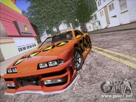 Elegy Cabrio Edition para visión interna GTA San Andreas