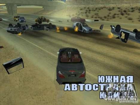 Campo de fuerza para GTA San Andreas tercera pantalla