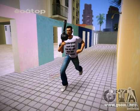 PPSH-41 para GTA Vice City tercera pantalla