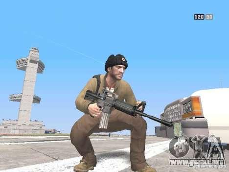 HQ Weapons pack V2.0 para GTA San Andreas sucesivamente de pantalla