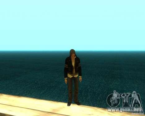 Alex Mercer ORIGINAL para GTA San Andreas quinta pantalla