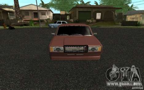 VAZ 2107 coche Tuning para GTA San Andreas left