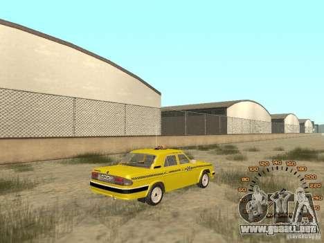 Gaz-31105 taxi para GTA San Andreas left