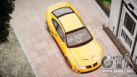 Pontiac GTO 2004 para GTA 4 vista lateral