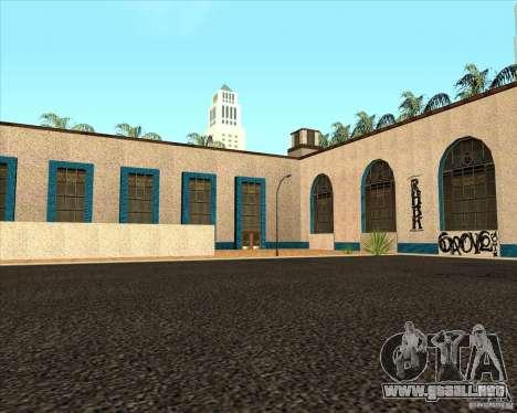 Nueva estación de unidad para GTA San Andreas segunda pantalla