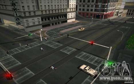 Carretera de HD (4 GTA SA) para GTA San Andreas segunda pantalla
