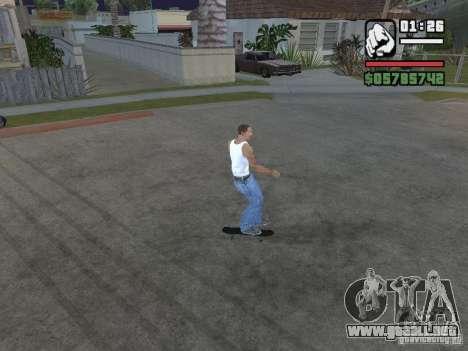 Skate para GTA SA para GTA San Andreas tercera pantalla
