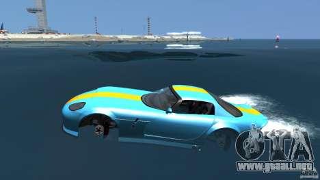 Banshee Boat para GTA 4 left