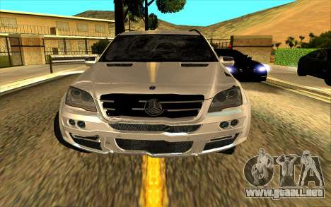 Mercedes-Benz ML63 AMG W165 Brabus para el motor de GTA San Andreas