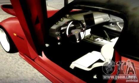 Honda S2000 JDM Tuning para vista inferior GTA San Andreas
