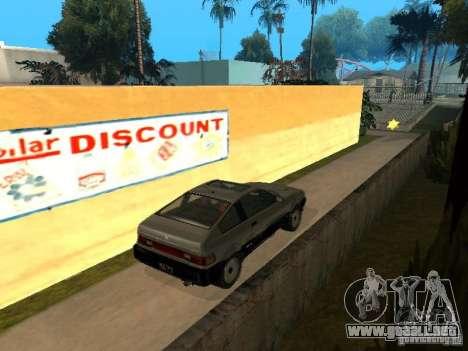 Blista From GTA IV para GTA San Andreas vista posterior izquierda