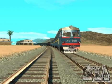 Er2 8011 para GTA San Andreas vista hacia atrás