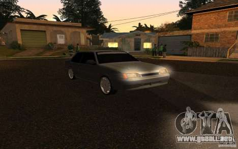 VAZ 2115 Coupe para GTA San Andreas left