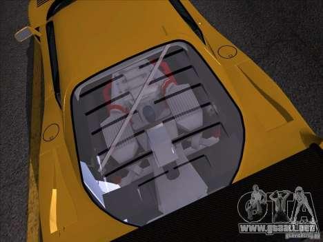 Ferrari F40 GTE LM para GTA San Andreas vista posterior izquierda