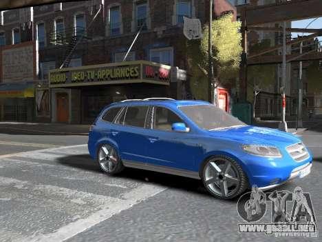 Hyundai Santa Fe para GTA 4 visión correcta