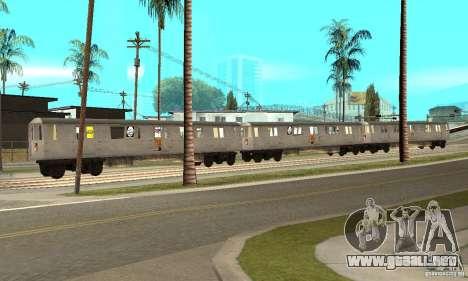 Liberty City Train GTA3 para GTA San Andreas left