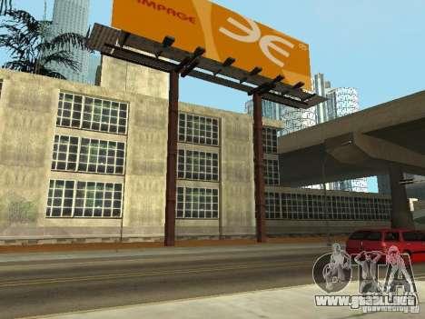 The Los Angeles Police Department para GTA San Andreas segunda pantalla