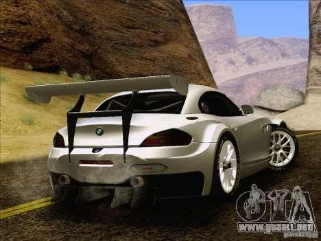 BMW Z4 E89 GT3 2010 Final para visión interna GTA San Andreas