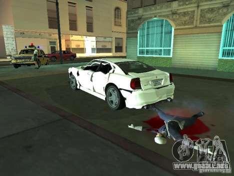 GTA 4 TBoGT de Buffalo para visión interna GTA San Andreas