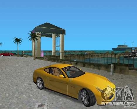Ferrari 612 Scaglietti para GTA Vice City visión correcta