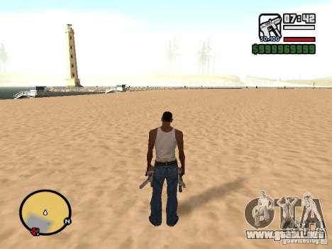 Cambiar el radar de zoom para GTA San Andreas sucesivamente de pantalla