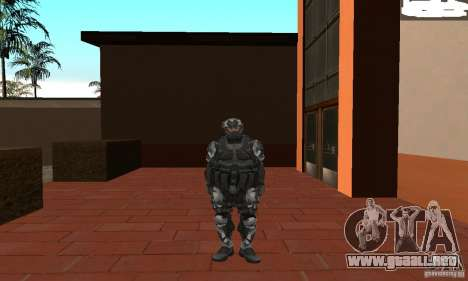 Crysis NanoSuit 2 para GTA San Andreas segunda pantalla