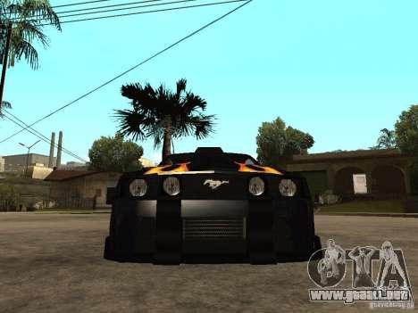 Ford Mustang GT Razor NFS MW para la visión correcta GTA San Andreas