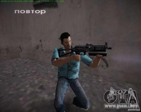 PP-19 Bizon para GTA Vice City sucesivamente de pantalla