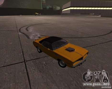 Plymouth Barracuda para visión interna GTA San Andreas