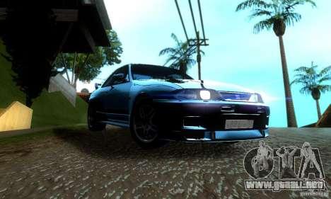 Nissan Skyline GT-R R-33 v2.0 para la visión correcta GTA San Andreas