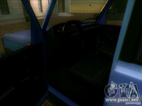 UAZ 3170 para visión interna GTA San Andreas