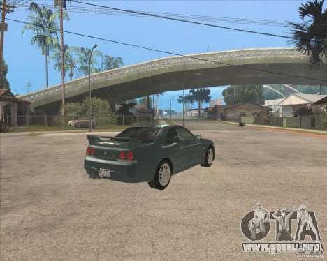 Nissan Skyline GT-R BNR33 para la visión correcta GTA San Andreas