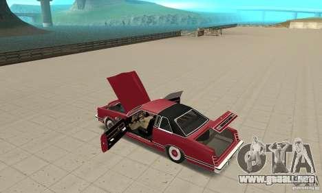 Ford LTD Landau Coupe 1975 para visión interna GTA San Andreas