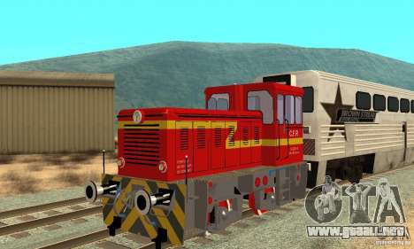 Locomotora LDH 18 para GTA San Andreas