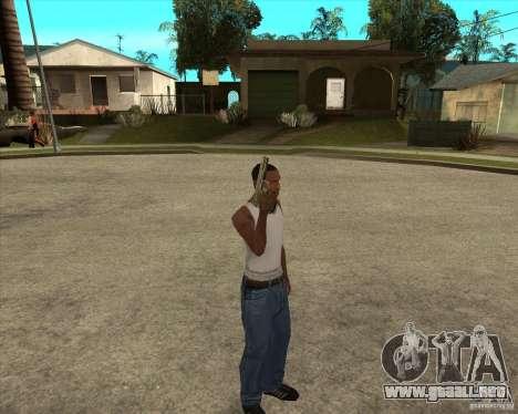 Armas de call of duty para GTA San Andreas tercera pantalla