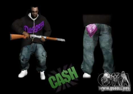 Pack Ballas Soldiaz Families V.2 para GTA San Andreas tercera pantalla